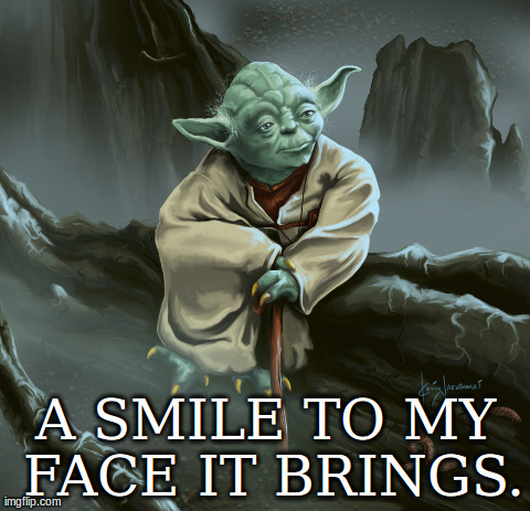 Yoda Meme Ever notice that all t...