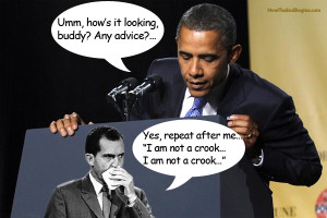 obama-nixon-scandals-i-am-not-a-crook-watergate-benghazi-coverup-irs