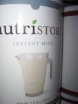 Instant milk